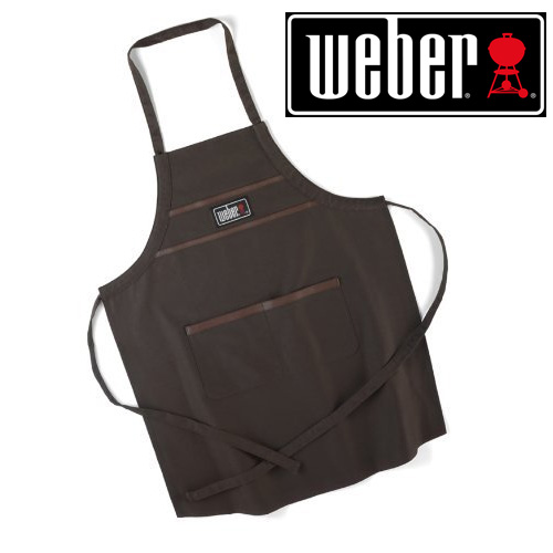 Weber Barbecue Apron - Brown - Great For Dad!