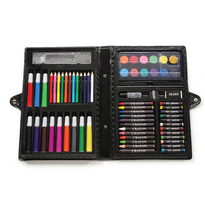 68 Piece Art Set With Case - One for $9 or Two for $15! SHIPS FREE!
