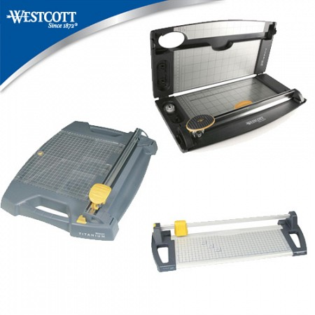 Westcott Titanium Bonded Premium Rotary Trimmers - Choose From 3 Models!