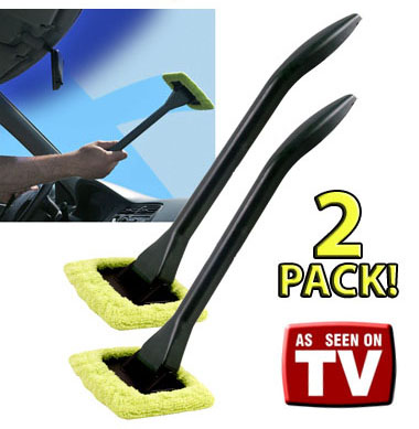 SHIPS FREE! - 2 Pack of EZ Reach Microfiber Cleaning Wands