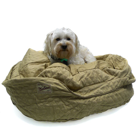 Woolrich Tan Small 'Add Your Own Stuffing' Dog Beds