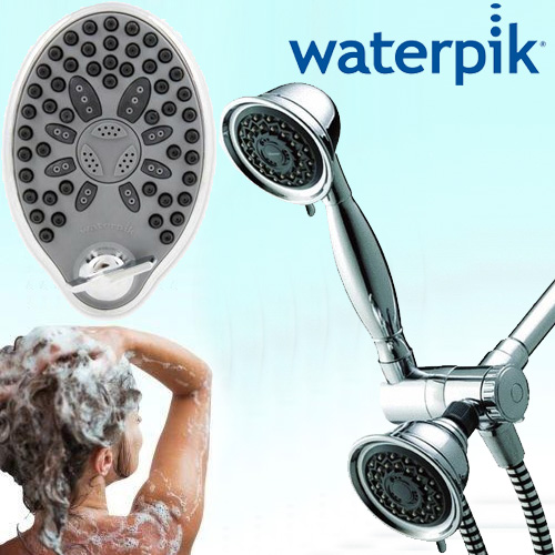 SHIPS FREE - WaterPik Massaging Shower Heads - Choose From 2 Great Models!