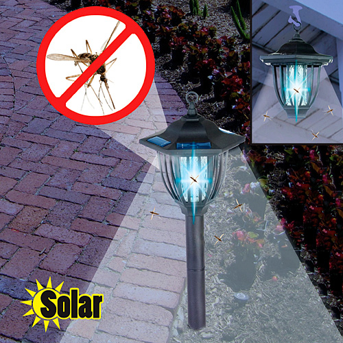 2-in-1 Solar Powered Insect Light - Perfect for gardens, patios and more!