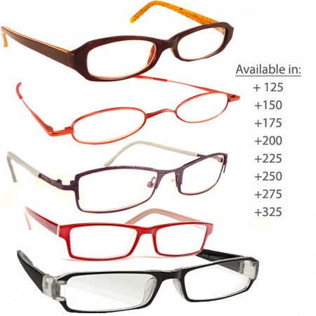 Fashion Reading Glasses - Choose your power level!