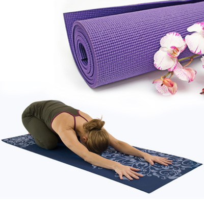 Extra Thick Yoga / Workout Mat - Exercise Should Be Comfy! SHIPS FREE!