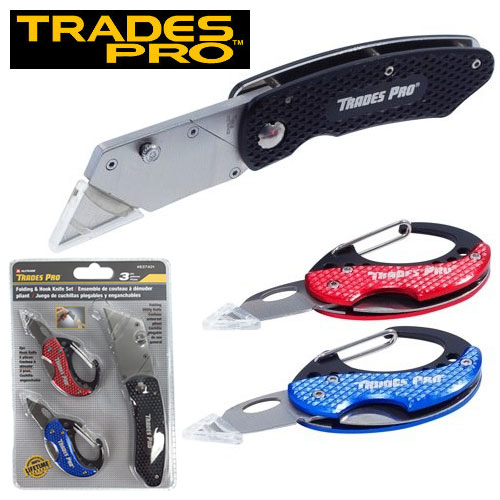 FREE 3 Piece Folding Knife Set...