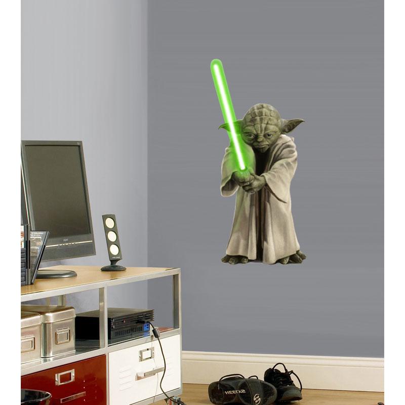 Star-Wars-Inspired-Life-Size-Yoda-Wall-Cling
