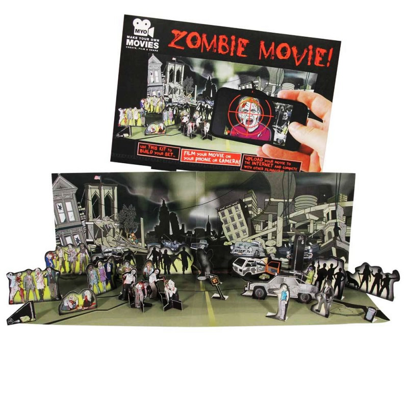 Zombie-Movie!-Make-Your-Own-Movie-Set
