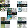 Deals on Set of 5 Stress Less Coloring Books