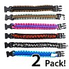 13deals.com: 2 Pack of 300 lb Paracord Bracelets