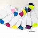 10 Pairs of Sport Essentials No Show Men's and Women's Socks