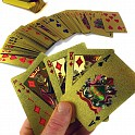 24Kt Gold-Plated Playing Cards