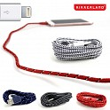 8 Pack of 6 Foot Cloth Covered iPhone Cables by Kikkerland