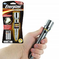Energizer Vision HD Performance Metal 300 Lumens Flashlight (Batteries Included)