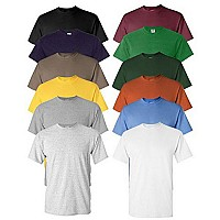 6 Pack of Moisture Wicking Anti-Microbial Performance Short Sleeve T-Shirts