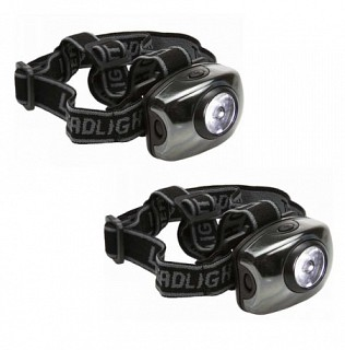 Super Bright 1-watt 100-Lumen Headlamp 2-Pack for Free