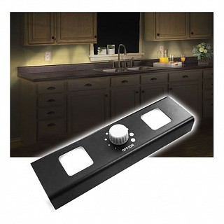 Wireless LED Under Cabinet Light With Dimmer Dial