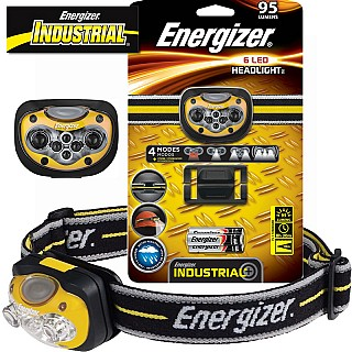 Energizer Industrial 6 LED Headlamp HDL33AINE
