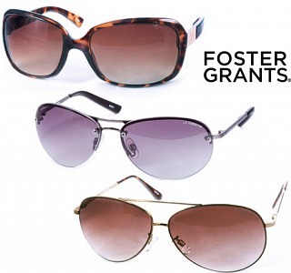 Foster Grant 3 Pairs of Ladies Sunglasses