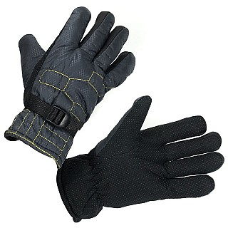 Men's Water Resistant Winter / Ski Gloves With Lining