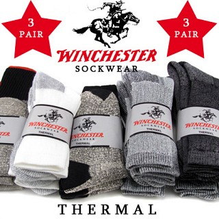 3-Pack Winchester Mens Thermal Socks