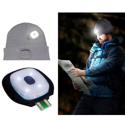 Ultra Bright 150 Lumen Rechargeable LED Lighted Unisex Beanie - 3 Brightness Settings and No Cumbersome and Expensive Batteries to Change! - Stay Warm and Illuminated! One for $12 or Two for $20! SHIPS FREE!This is INCREDIBLY nice! Don't be fooled by cheapo versions!
