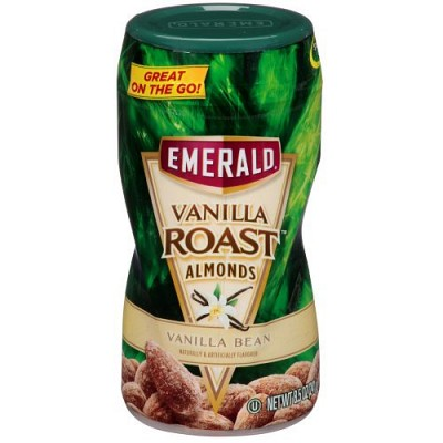Emerald Vanilla Roasted Almonds - One for $5.99 or Six for $24! SHIPS FREE!