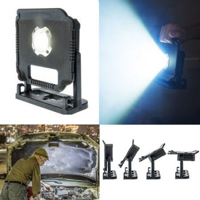 Heavy Duty, Rain Proof and Impact Resistant ULTRA BRIGHT 10W 750 Lumens High Powered Magnetic Multi-Directional Work Light - CURRENTLY $40 at Home Depot, $27 ON AMAZON WITH 4.4 STAR REVIEWS! - BUT YOUR PRICEJust $9.99, or even better, order 6 or more for only $8.99 each! Folks, this one is madness! Also makes a great gift! Limit 12 per customer - SHIPS FREE!                                          Yes, we realize our prices seem too good to be true, but they are! We've been at this for over 10 years and our prices just keep getting better!